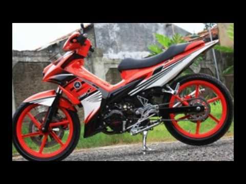 Cah Gagah | Video Modifikasi Motor Yamaha Jupiter MX Airbrush Keren Terbaru Part 3