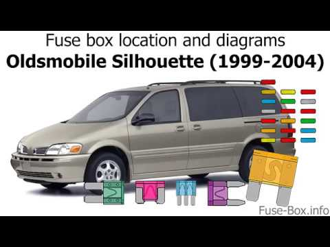 [TVPR_3874]  Fuse box location and diagrams: Oldsmobile Silhouette (1999-2004) - YouTube | 1999 Oldsmobile Cutl Fuse Box Diagram |  | YouTube