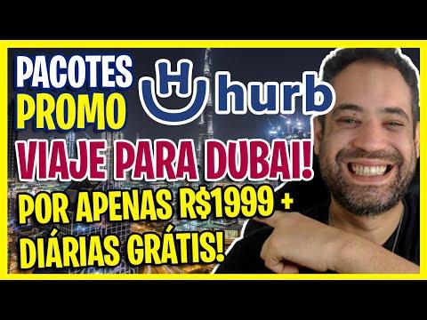 LOUCURA! PACOTE DUBAI POR R$1999 + DIÁRIA GRÁTIS! PACOTES DE VIAGENS HURB