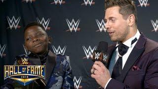 "The Miz asks Jarrius ""J.J."" Robertson for his WrestleMania 34 predi..."