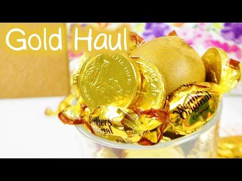 DIY Inspiration Challenge #93 | GOLD HAUL | Evas Challenge | DIY Idee Sonntag Challenge