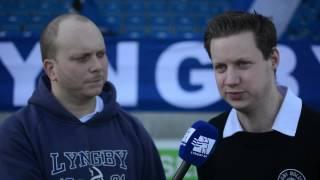 Lyngby Fans formand: Vi vil gerne have fans på Brøndby Stadion