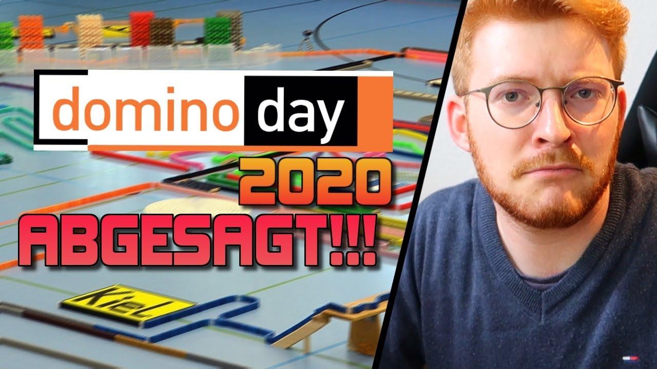 Der DOMINO DAY 2020 ist ABGESAGT!!