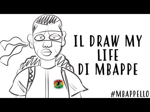 IL DRAW MY LIFE DI MBAPPE  NUOVO PERSONAGGIO?  #DOPPIAGGICOATTI
