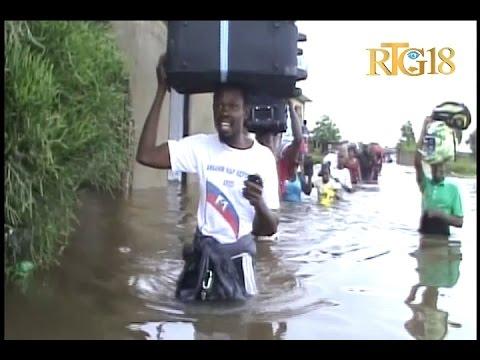 Haïti.- Cap-Haïtien / Inondation