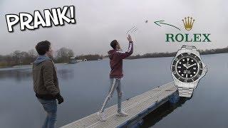 Rolex ins Wasser schmeißen - Prank!