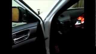Kicker subwoofer in 2011 Subaru WRX STI