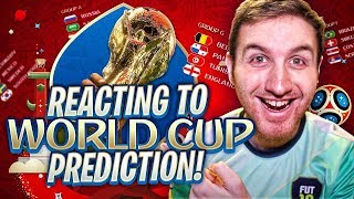 REACTING TO WORLD CUP PREDICTION!!!