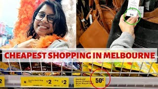 Cheapest Shopping Places In Melbourne For International Students | Melbourne Shopping