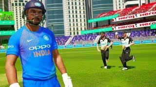 India vs New Zealand - Thrilling 1st T20 Match - Don Bradman Cricket 17
