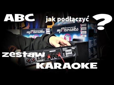 """ABC co to jest ? jak podłączyc zestaw karaoke na przykładzie """"My 1st Karaoke"""""""