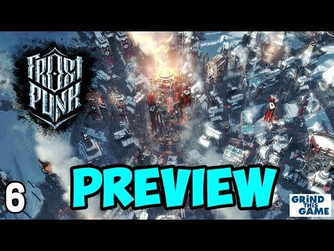 FROSTPUNK REVIEW Gameplay #6 - FATAL STORM? (Spoilers) - Steampunk Ice Survival [4k]
