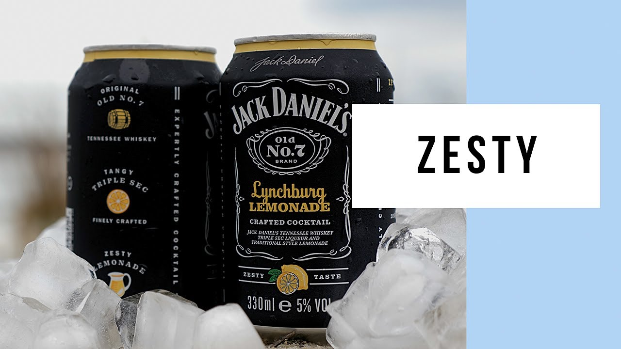 UK Only Jack Daniel's Lynchburg Lemonade Premix Is Zesty Goodness