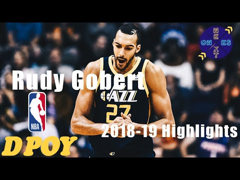 Utah Jazz Center Rudy Gobert 2018-2019 Highlights | Defensive Player of the Year