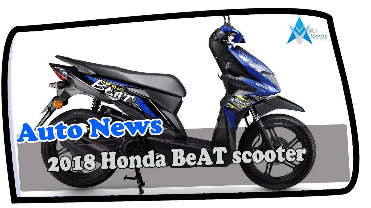 Hot News 2018 Honda Beat Scooter Price Spec Youtube