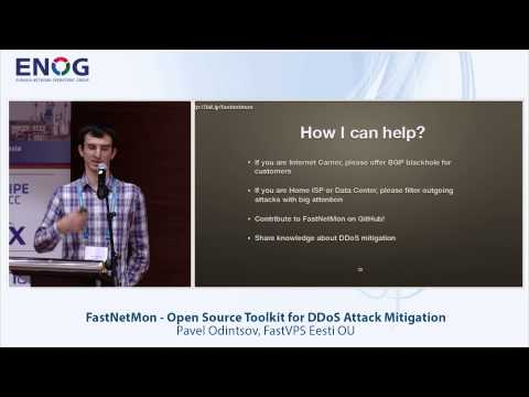 ENOG 9: FastNetMon - Open Source Toolkit for DDoS Attack Mitigation - Pavel Odintsov  (EN)