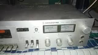 Sonodyne scr 2060 & 3 way speaker sound vocal test .