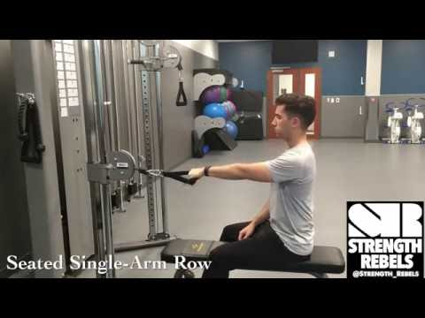 Seated Single-Arm Row [Strength Rebels]