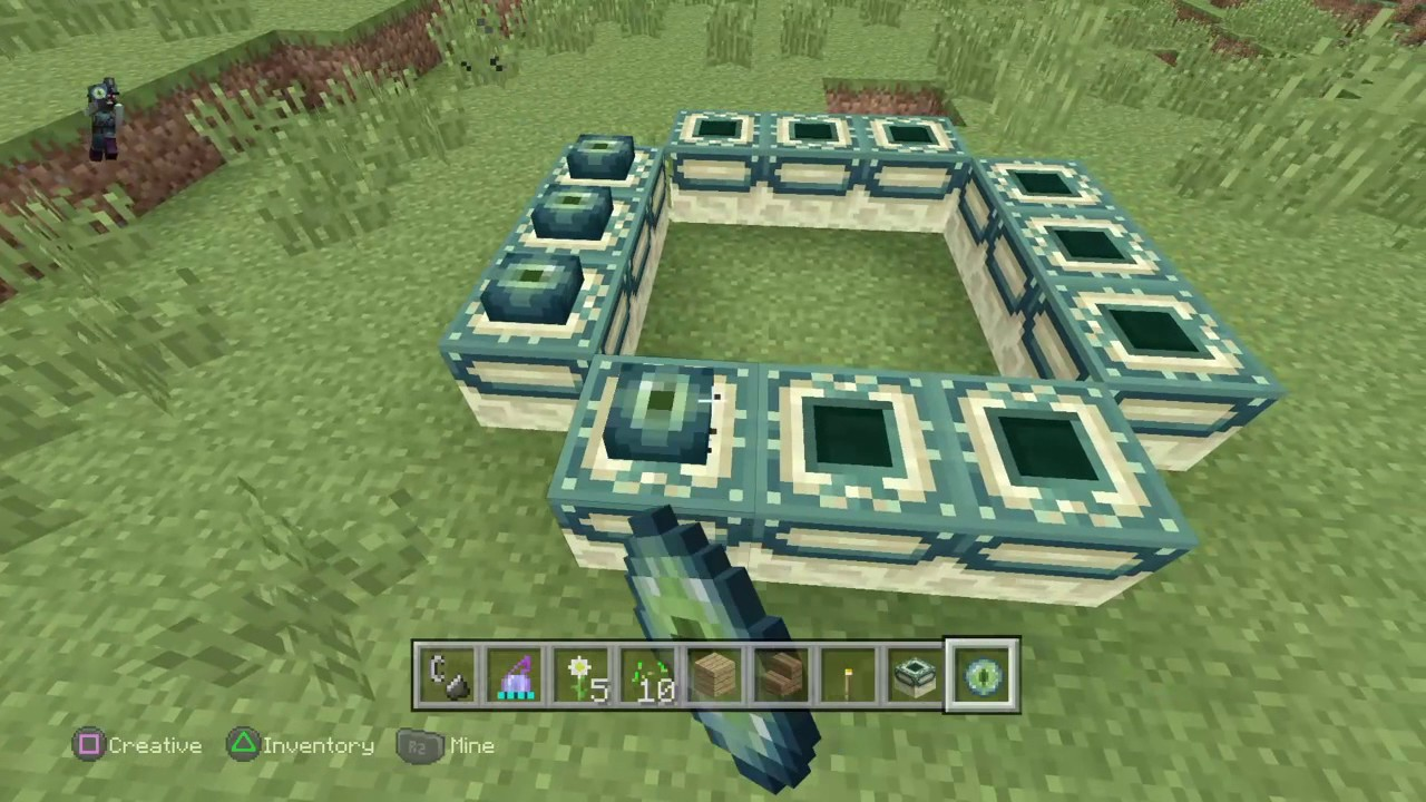 minecraft videos how to make a ender portal