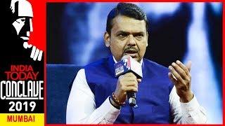 CM Devendra Fadnavis Talks About PM Post, Family Life And Shiv Sena At   ConclaveMumbai19