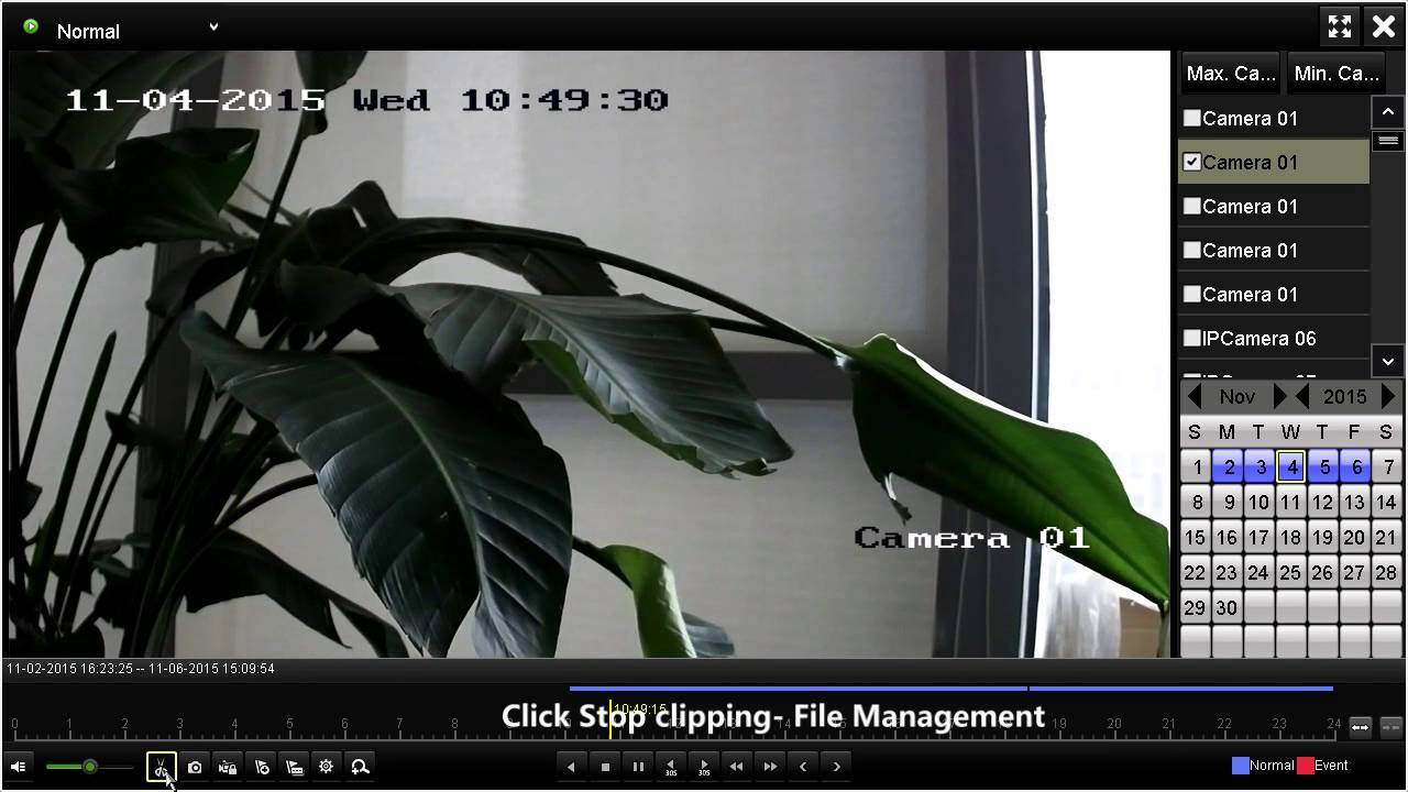 How to Export video clips on HIKVISION DVR/NVR