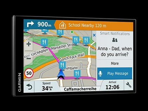 garmin drivesmart 61 notification reading test youtube. Black Bedroom Furniture Sets. Home Design Ideas