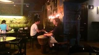 Живая музыка в кафе Sicaffe, Санкт-Петербург