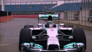 Mercedes AMG Petronas F1 W05 shakedown