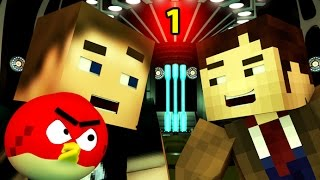 ANGRY MINECRAFT - DOCTOR WHO [ 3D Minecraft Animation] Angry Birds  Ep.1