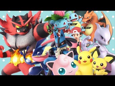 The Pokemon of Smash Ultimate