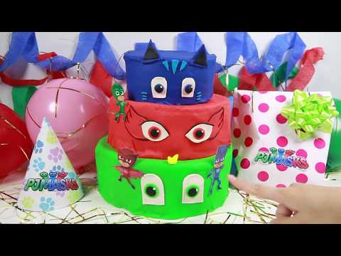 Wrong Mask PJ Masks Gekko Catboy Learn Colors for Kids