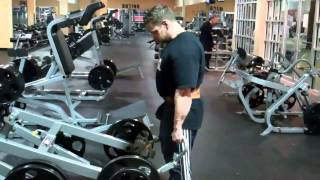 Vinny Galanti BACK Day at  TETERBORO, NJ Golds Gym