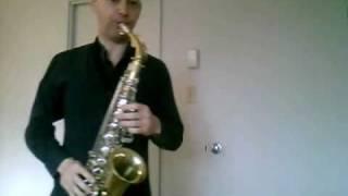 Selmer Bundy II alto saxophone. Amazing sound!