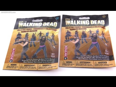 McFarlane The Walking Dead figure blind bag openings