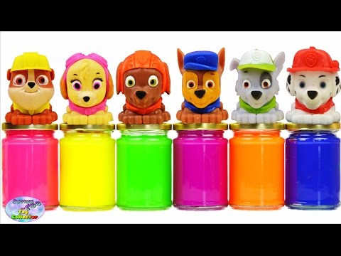 Paw Patrol Learn Colors Slime Surprise Nick Jr MLP Disney Cars Surprise Egg and Toy Collector SETC  