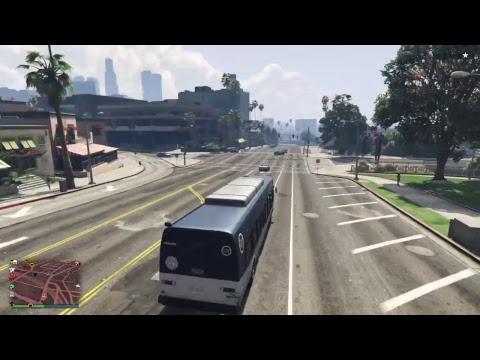 Gta V Online tutti in autobus!!