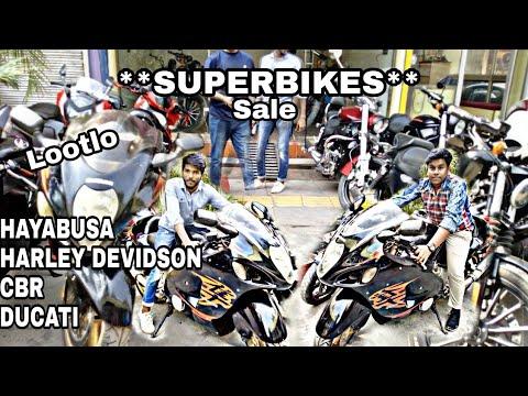 SUPER BIKES | HAYABUSA, HARLEY DAVIDSON, DUCATI, CBR | Karol Bagh | New Delhi | By Moto Beast