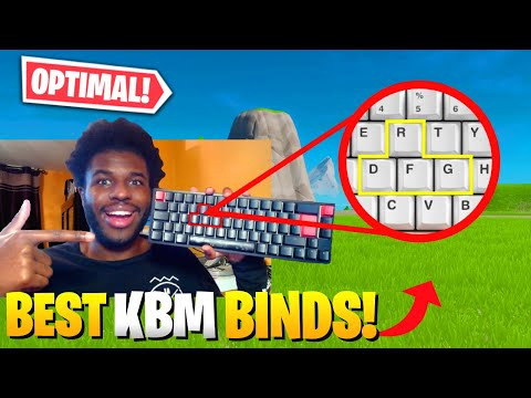 COMPLETE Binds & Settings Guide For NEW KBM Players | Optimal Keybinds | Fortnite Chapter 2 Season 3