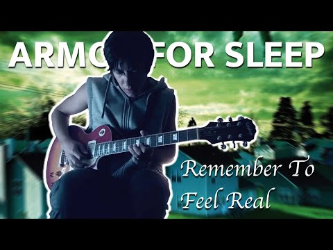 Remember to Feel Real (Armor for Sleep) Guitar Cover
