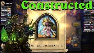 Hearthstone: Winning 10 Standard Games to Unlock Lunara