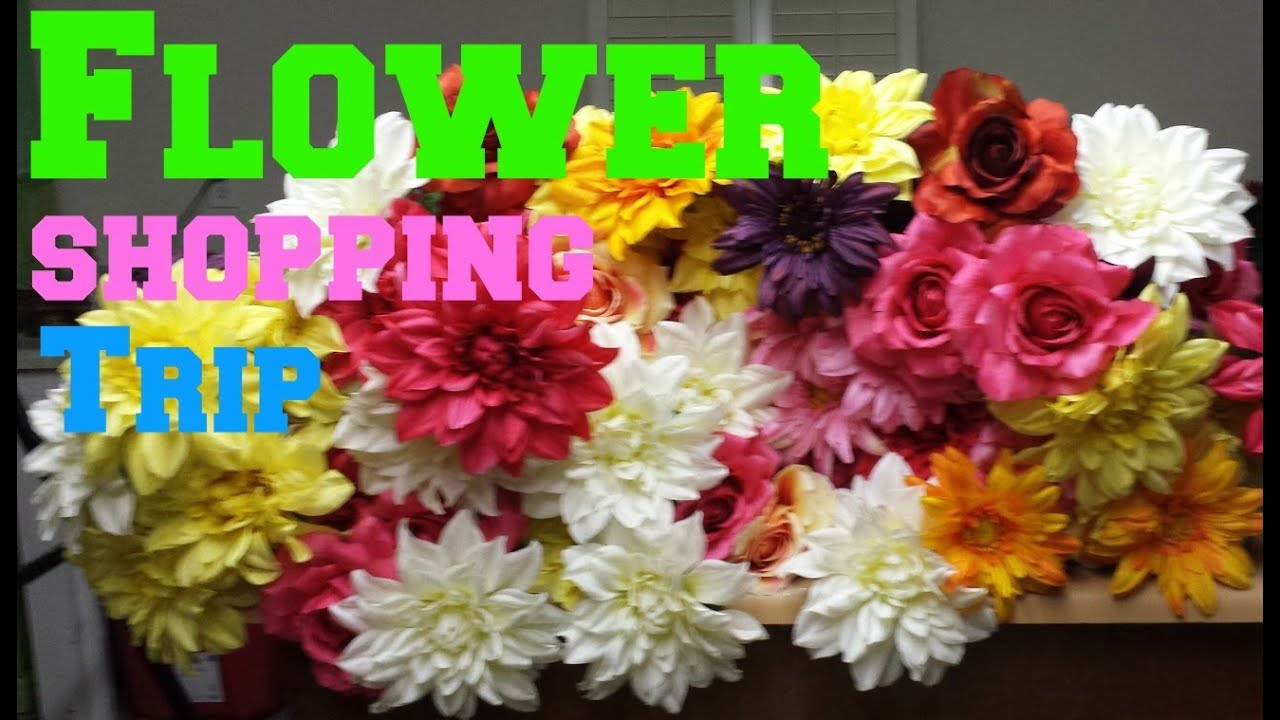 Best Buy For Spring Silk Flowers Youtube