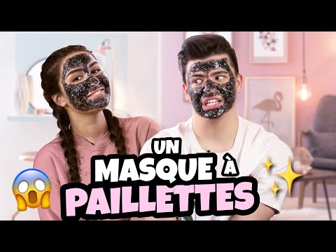 [SEPHORA x RICHAARD] Test du Glitter Mask + Whisper Challenge w/TheDollBeauty