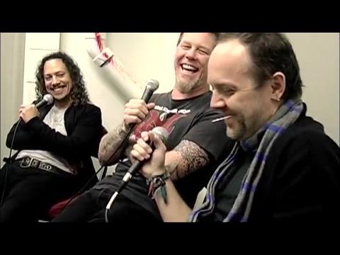 Jim Breuer Interviews Metallica Backstage in Newark, NJ, USA (2009)