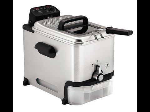 Review:  T-fal FR8000 Oil Filtration Ultimate EZ Clean Easy to clean 3.5-Liter