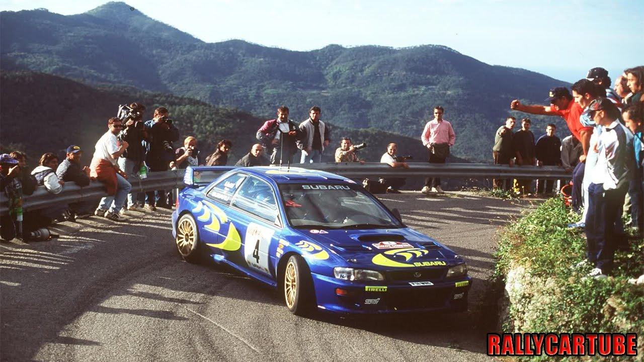 Piero Liatti Subaru Impreza 555 Wrc 1997 Prodrive Test