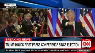 "Donald Trump calls CNN ""fake news"""