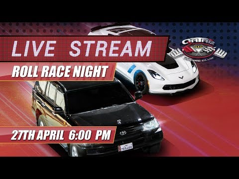 QRC Roll Race Night - Friday 27th of April 2018