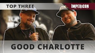 Top Three with Good Charlotte