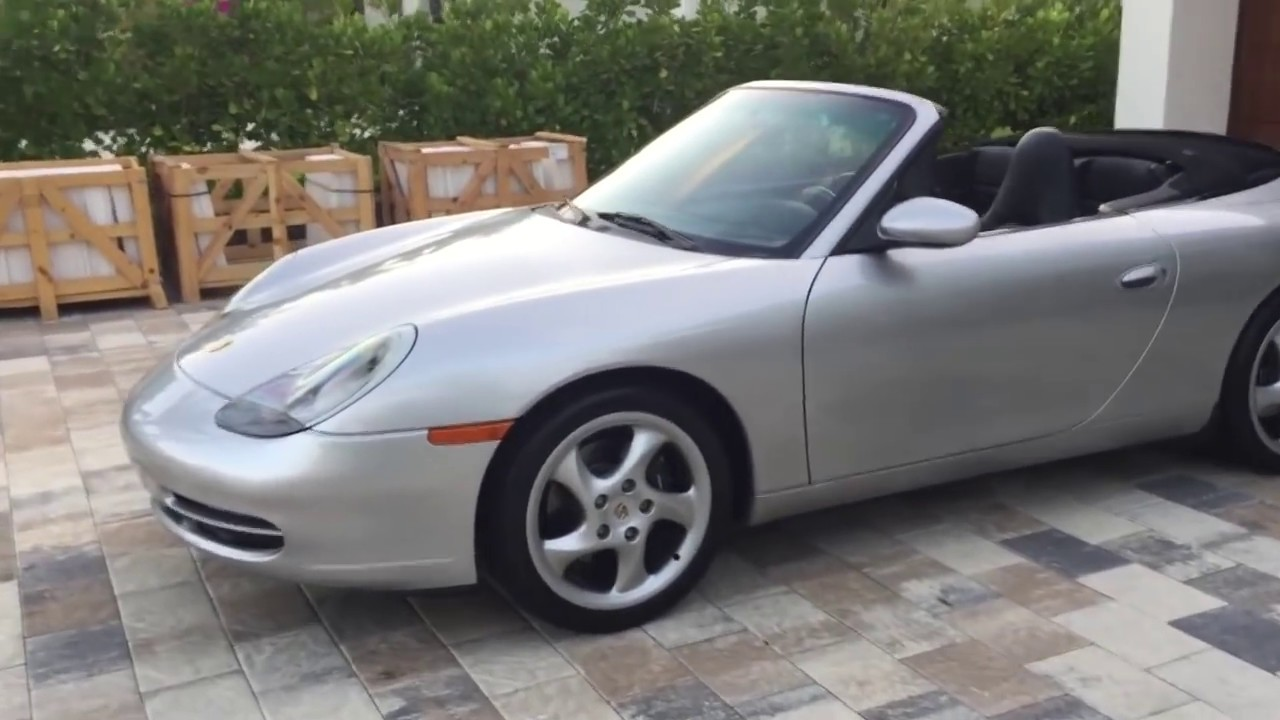 1999 Porsche 911 Carrera Convertible Review And Test Drive By Bill Auto Europa Naples Youtube