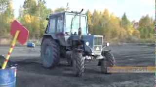 Экзамены на трактородроме